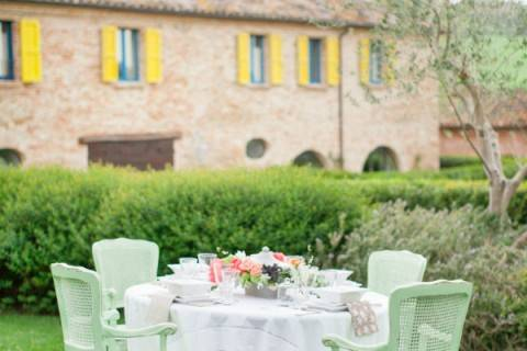 wedding greenery italy
