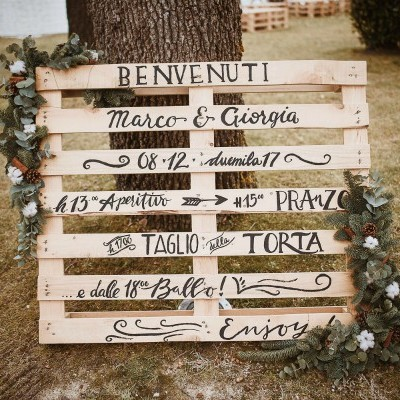 Wedding in Urbino - winter chic