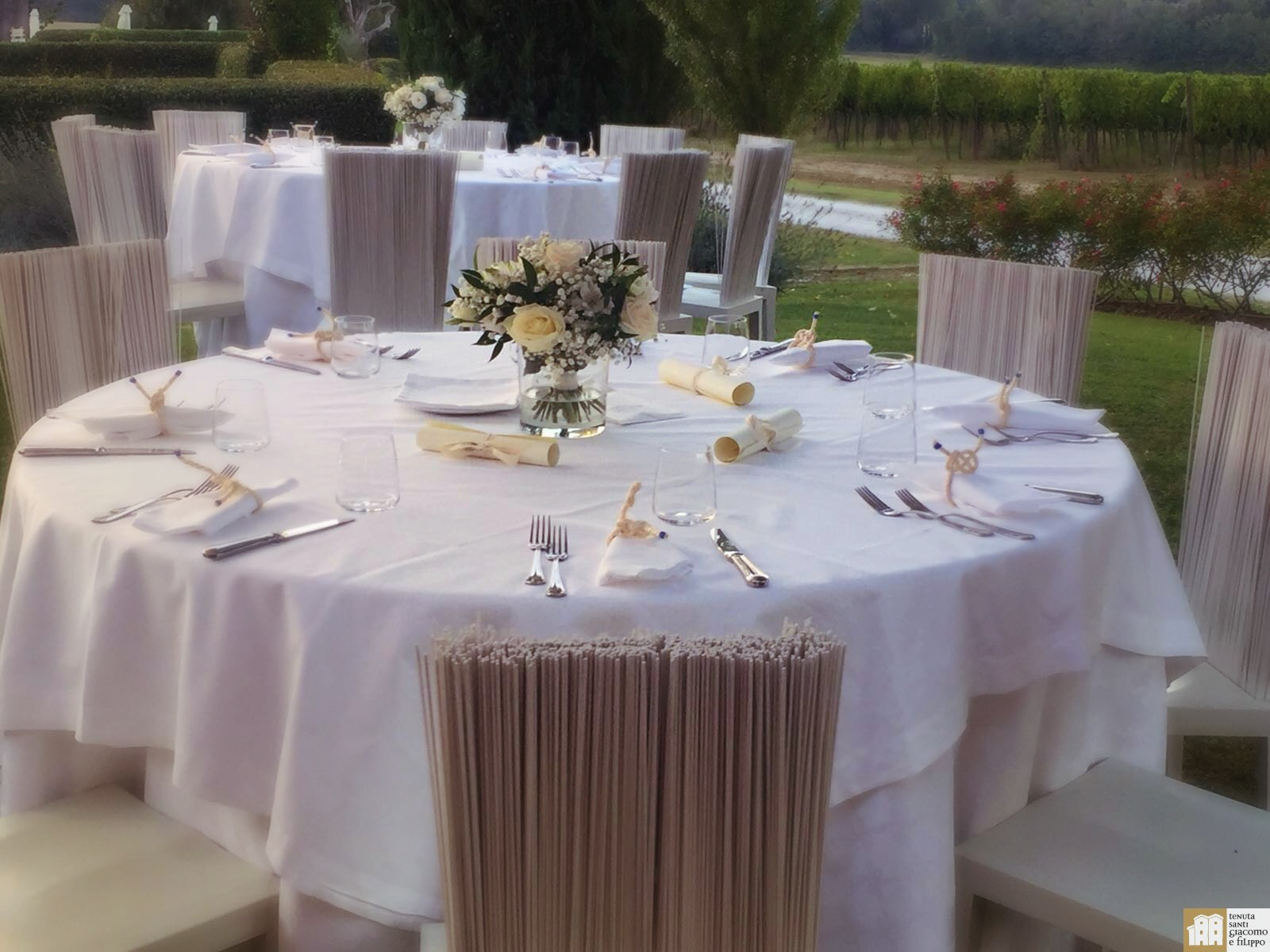wedding country italy chic